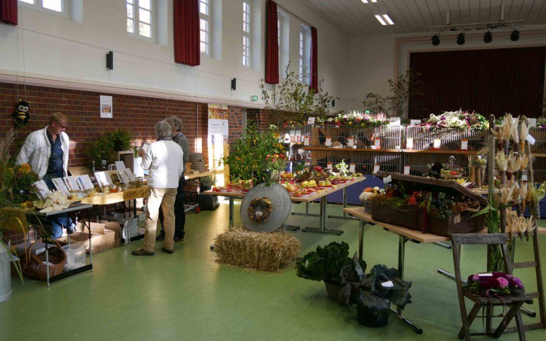 Hühner und Honig – unser Verein auf der diesjährigen Ausstellung des Geflügel- und Gartenbauvereins Isselhorst am 12./13.10.2019